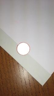 製本テープ割印